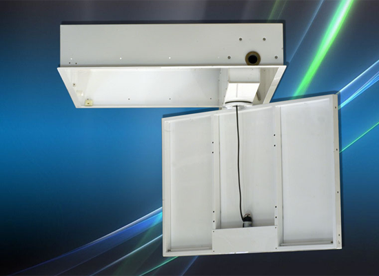 Tv scomparsa soffitto